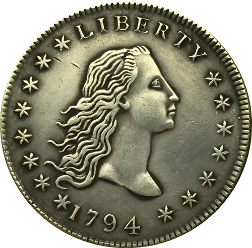 1794 type1 Flowing Hair Dollar COIN COPY
