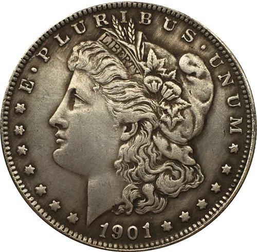 1901 USA Morgan Dollar coins COPY