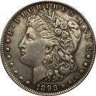 1893 USA Morgan Dollar coins COPY