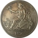 1876 United States $1 Dollar coins COPY Type 2