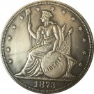 1873 United States $1 Dollar coins COPY Type 2