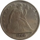 1844 Seated Liberty Dollar COINS COPY