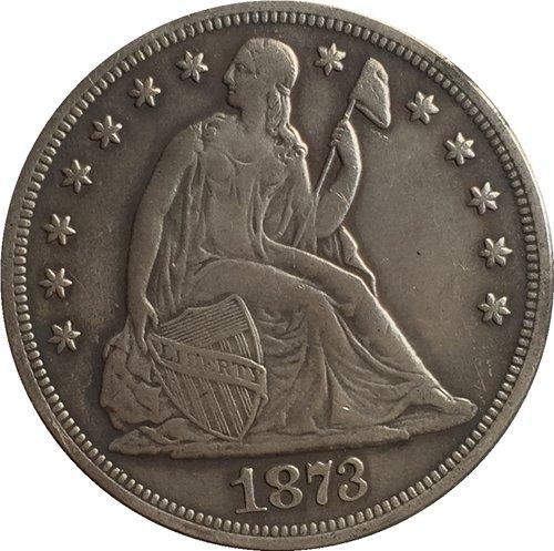1873-CC Seated Liberty Dollar COINS COPY