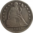 1873-CC Seated Liberty Dollar COINS COPY