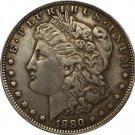 1880-CC USA Morgan Dollar coins COPY