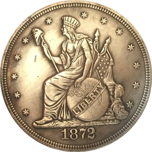 1872 United States $1 Dollar coins COPY