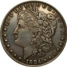 1884-S USA Morgan Dollar coins COPY
