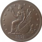 1871 United States $1 Dollar coins COPY