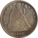 1860 Seated Liberty Dollar COINS COPY