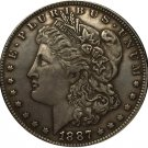 1887 USA Morgan Dollar coins COPY