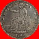1885 Trade Dollar COIN COPY