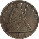 1872-CC Seated Liberty Dollar COINS COPY