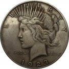 1923 Peace Dollar COIN COPY