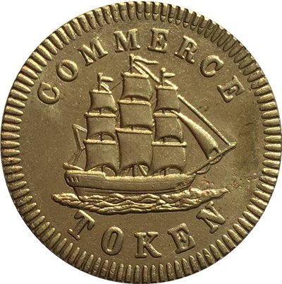 Canada 1828 1/2 Penny coins COPY 26.7MM