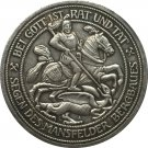 German 1915 3 Mark coin copy 33mm