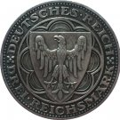 1927 German 3 Reichsmark (100th Anniversary of Bremerhaven - A) coins COPY 30mm