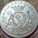 1748 German Thaler Franz copy coins