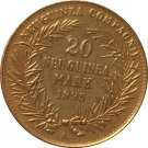 24-K Gold plated 1895 Germany 20 Marks Coin COPY