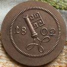 1802 German 2 1/2 Schwaren coins