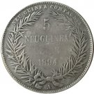 1894 Germany 5 Marks Coin COPY