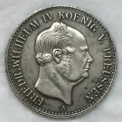German 1852 1/2 Gulden coin copy 24mm