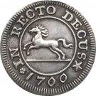 1700 German 4 Mariengroschen - George I coins COPY 21MM