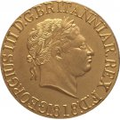 24 - K gold plated 1818 United Kingdom 1 Sovereign - George III coins copy