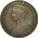 United Kingdom 1 Crown - Victoria copy coins