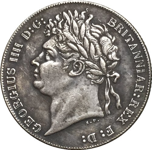 1829 Britain 6 Pence (George IV) coins COPY 19MM