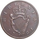 Ireland George III 1/2 Penny 1781 coins copy