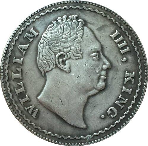 British 1834 1 Rupee coin copy 30.74mm