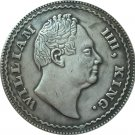 British 1834 1 Rupee coin copy 30.74mm