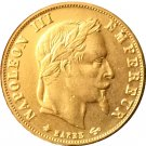 1864 France 5 Francs - Napoleon III coins copy