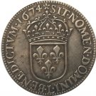 France Louis XIV 30 Sols 1674 copy coins