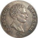 France napoleon I 1807 B 2 Francs coins copy