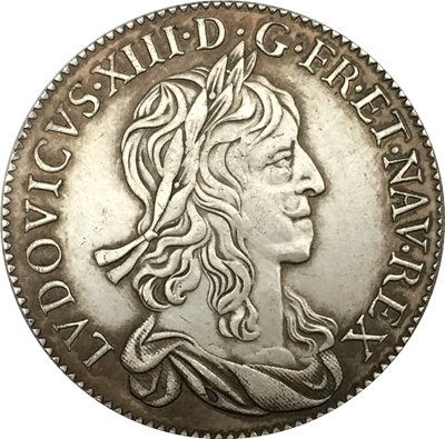 France Louis XIII 1642 coins copy
