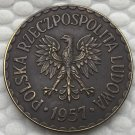 Poland 1957 COIN COPY 25mm