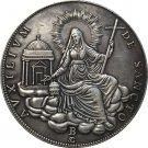Italy 1829 1 Scudo copy coins 41MM