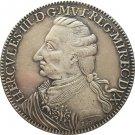 Italian states 1796 1 Tallero, Levant - Ercole III d'Este copy coins