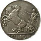 1930 Italy 10 lire COINS COPY