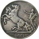 1931 Italy 10 lire COINS COPY
