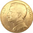 1912 Italy 50 Lire coins COPY 28MM