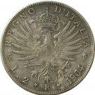 1904 Italy 2 lire COINS COPY