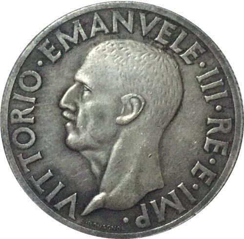 1936 Italy 1 Lire coins COPY