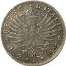 1902 Italy 2 lire COINS COPY