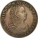 1707 Italy 1 Tollero - Cosimo III coins copy
