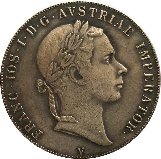 1853 Italy 1 Scudo - Franz Joseph I coins copy
