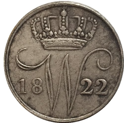 1822 Netherlands COIN COPY