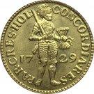 Netherlands 1729 1 Dukaat copy coin 21.8MM