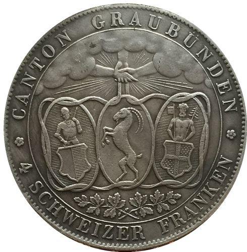 1842 Swiss coins copy